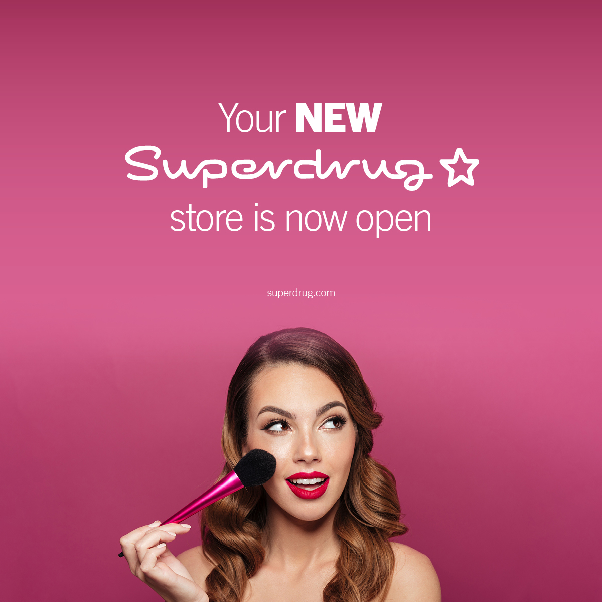 Your new Superdrug store is now open! Event Image